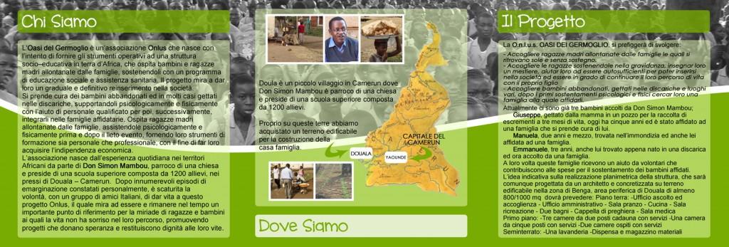 Oasi del Germoglio, Camerun - onlus