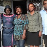 i volti di chi costruirà l'oasi del germoglio, camerun