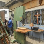 laboratorio falegnameria per l'oasi del germoglio, camerun