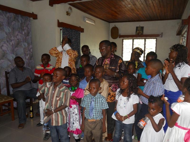 il regalo di natale, camerun