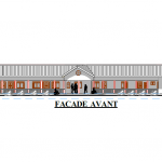 Progetto: facciata anteriore