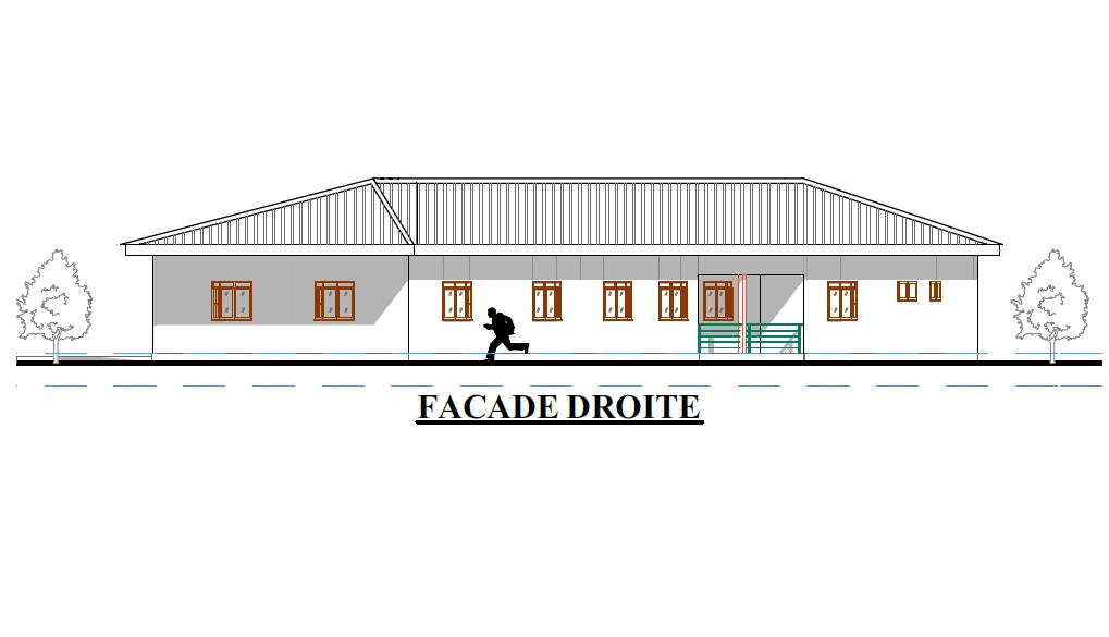 ProgettoCentro Accoglienza: facciata destra
