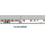 ProgettoCentro Accoglienza: facciata posteriore