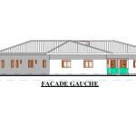 ProgettoCentro Accoglienza: facciata sinistra