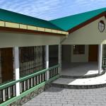 Rendering progetto Centro Accoglienza Camerun - ONLUS Oasi del Germoglio