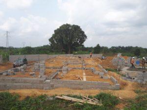 Il centro medico che stiamo costruendo in Camerun con L'oasi del Germoglio