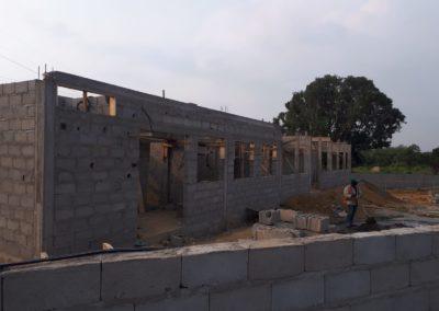 Costruzione della sala operatoria: progressi in Camerun Oasi del Gemroglio
